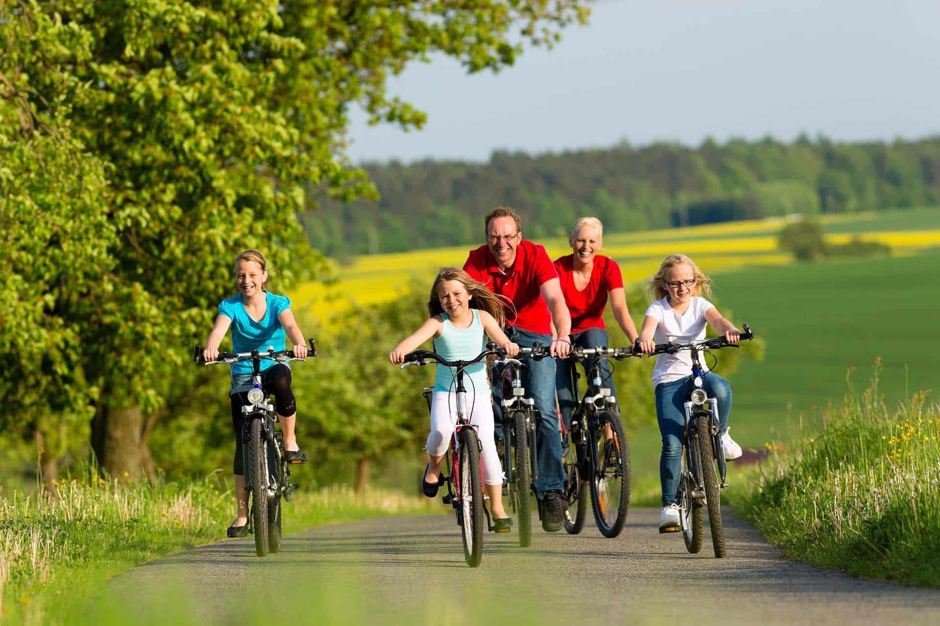 Radfahren an der Saarschleife