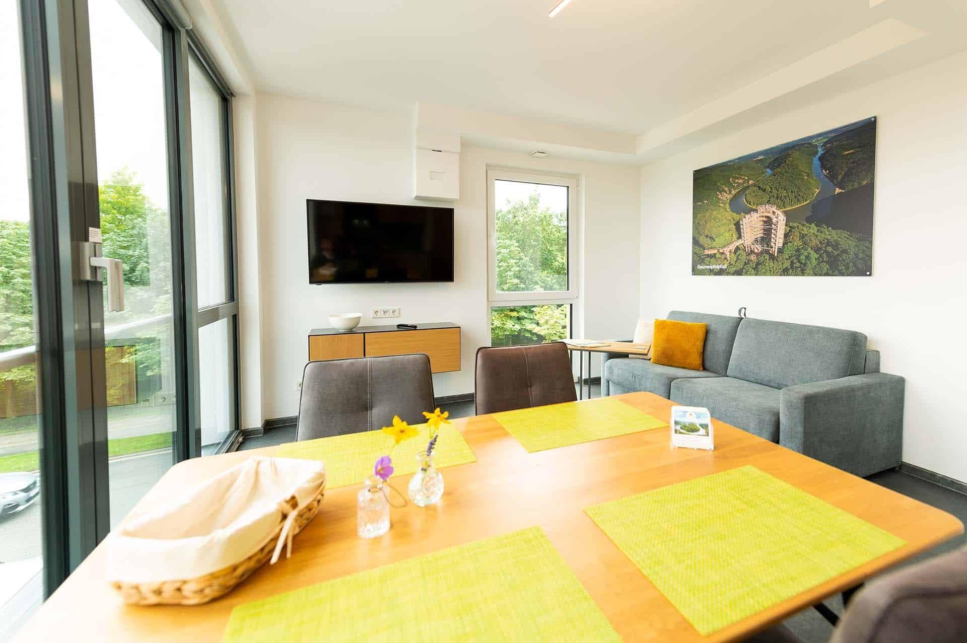 appartement-baumwipfelpfad-saarschleife-wohnbereich